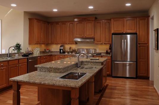 Mechanicsville custom kitchen cabinetry granite