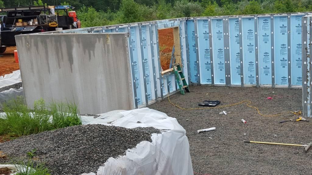 Louisa Superior Walls install 8.15