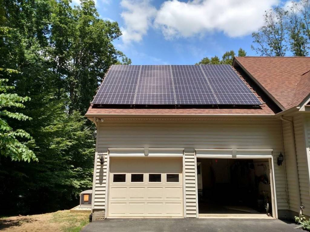 This Lake Anna homeowner installed Solar and a generator for backup power