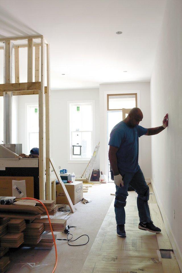 Custom Home build in progress