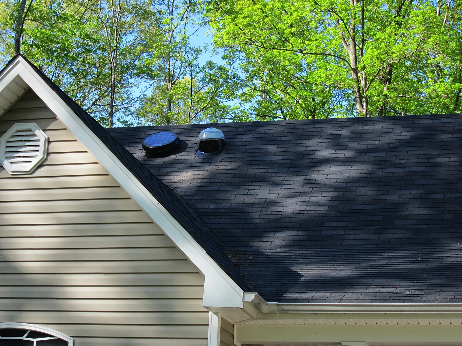 This Chesterfield County home has a Solar Star Attic fan and a SolaTube  Daylighting System