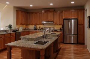 Mechanicsville custom kitchen cabinetry granite